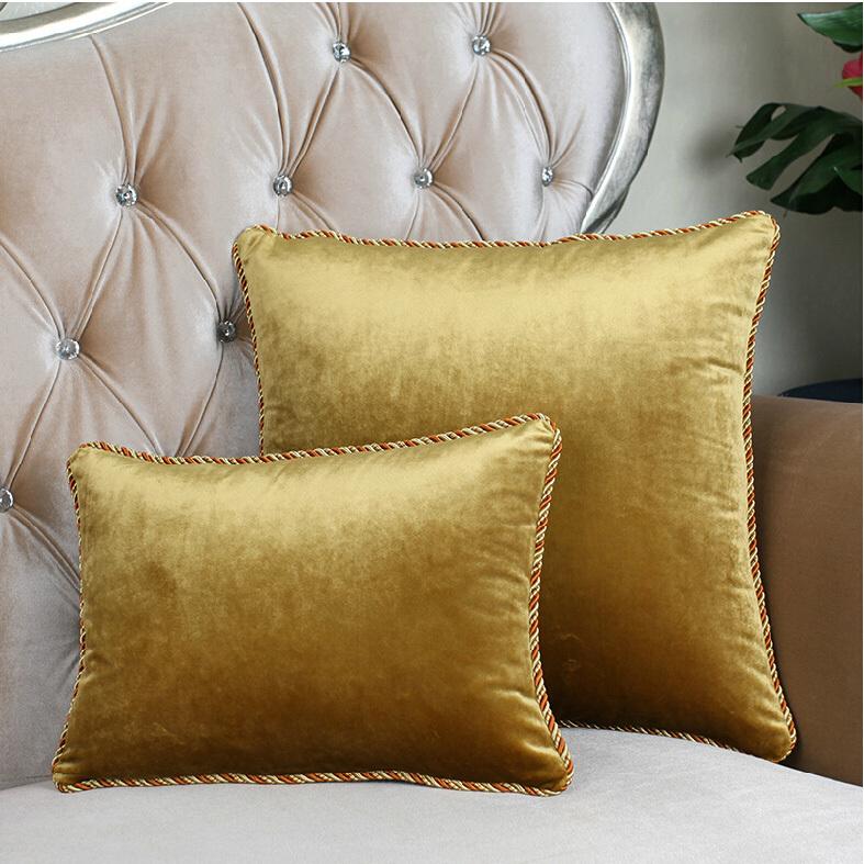 9015 high grade velvet pillow cushions cushion sofa