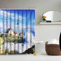 Popular Lighthouse Shower Curtains-Buy Cheap Lighthouse ...
