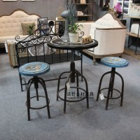 American country style table tea table coffee table bar