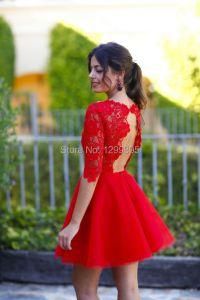 Prom Dresses 2015 Red Short | www.imgkid.com - The Image ...