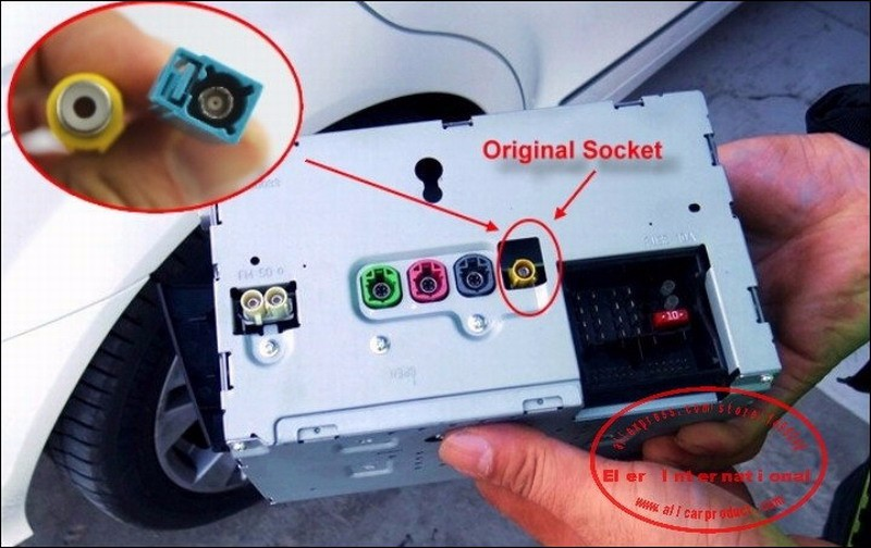 Original video input switch rca connector convertor adapter wire benz c e plugs cheapraybanclubmaster Image collections