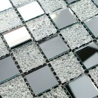 glass mosaic tiles deco mesh mirror tile flooring cheap ...