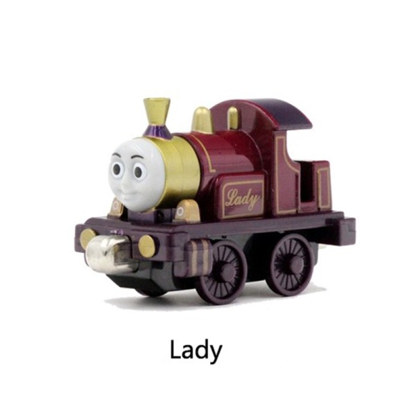Rare Thomas & Friends Lady Diecast Magnetic Locomotive