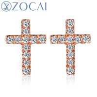 Popular Real Diamond Stud Earrings