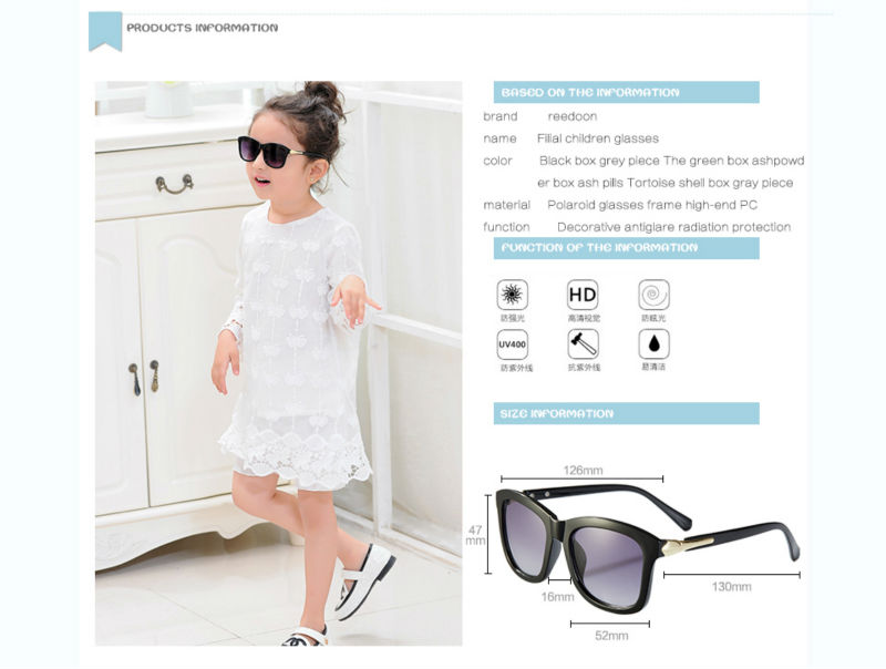 09738cb22b Click here!! reedoon Vintage Baby Boy Girls Kids Sunglasses Top Fashion  Coating Sunglasses Children Sun Glasses Oculos De Sol Gafas infantile