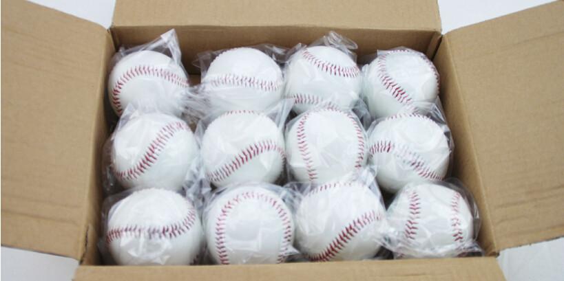 ᗑ】9 pulgadas ejercicio PVC béisbol interior caucho entrenamiento ...