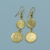 Aliexpress.com : Buy Arab coin earring for women,18k gold