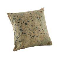 Home Decorative Linen Pillowcase Green Plants Throw Pillow ...