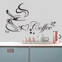 Newly designed Coffee cup for home/kitchen stickers