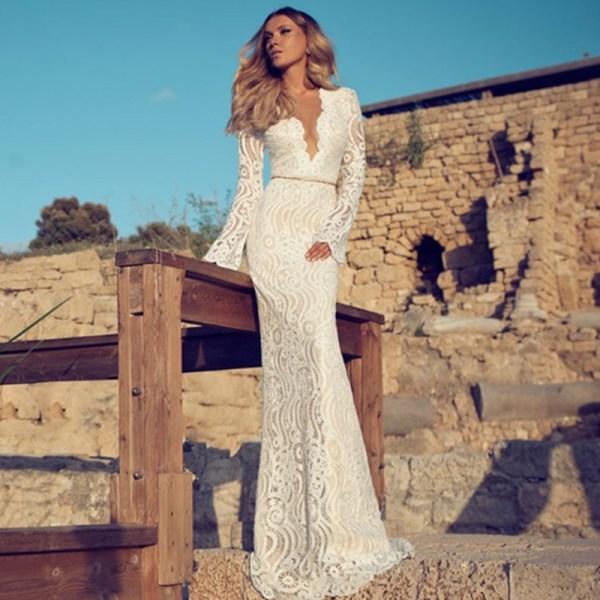 Julie Vino Wedding Dress Lace 2014