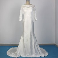 Online Buy Wholesale silk wedding dress from China silk ...