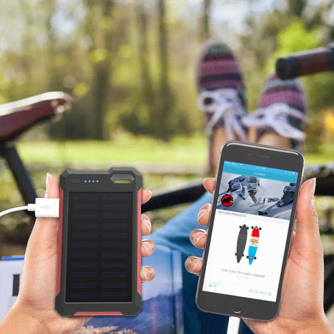 American Generous 30000mah Type-c Power Bank Mirror Portable Fashion Led Mobile Phones External Charging Pack Powerbank For Iphone Xiaomi Samsung