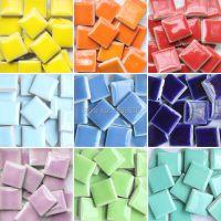 DIY Colorful Mosaic tiles 200pieces Wall Craft Aquarium ...