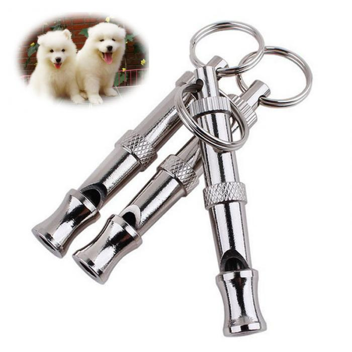 -Random color Water /& Wood 90mm Pet Dog Training Adjustable Whistle Pitch UltraSonic Sound