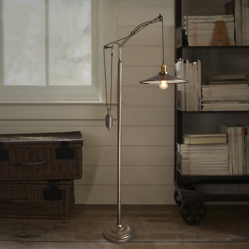 Pulley Floor Lamp PromotionShop for Promotional Pulley