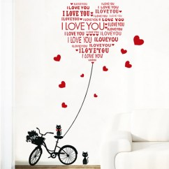 Cat Tunnel Sofa Price Moderno Barato Diy Wall Stickers Mural Bicycle Decals Letter Love ...