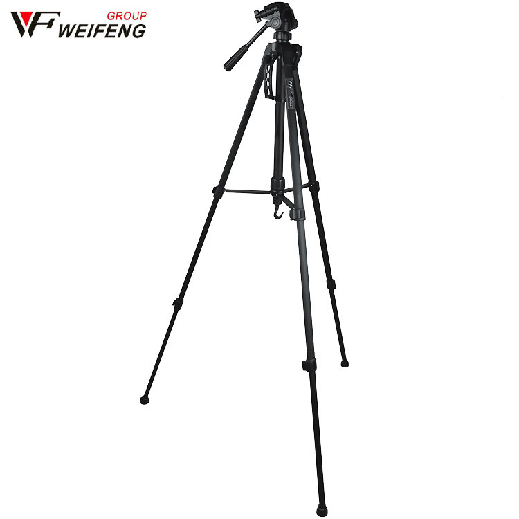 Color : Black, Size : One Size BWAM-elck Travel Tripod Monopod Heavy Duty Aluminum Alloy Tripod for DSLR SLR Camera Video Camcorder Ideal for Travel and Work