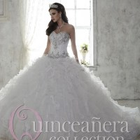 Popular Silver Quinceanera Dresses