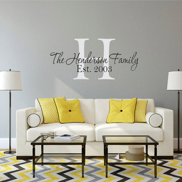 Brand Family Tree Wall Decals Vinyl Decal Photo Frame Stickers Living Room Home Decor