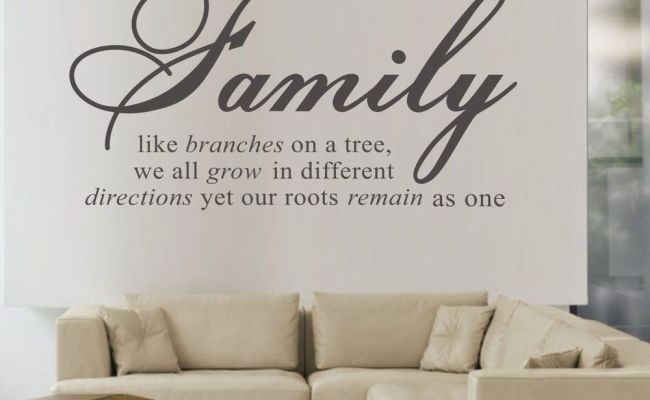 Family Like Branches On A Tree Wall Papers Home Decor