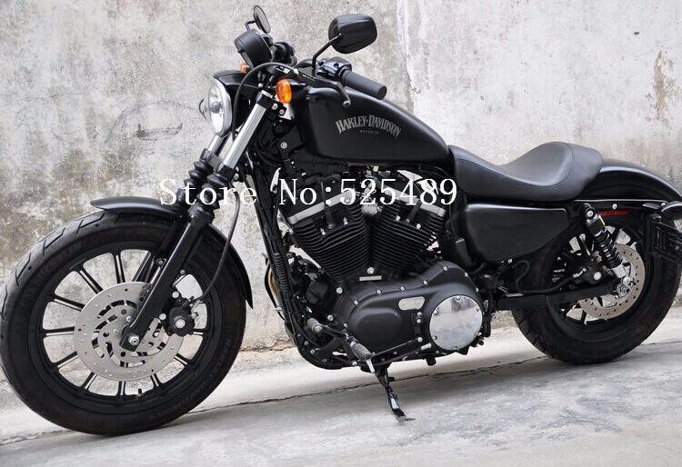 Ξ2 шт. лот Chrome черные мотоциклетные заднего вида сбоку Зеркала ... a5b64a81f72