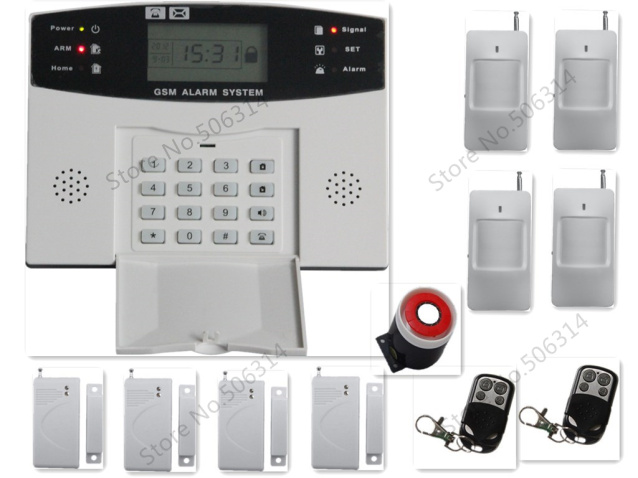 Wireless Gsm Alarm System 9030