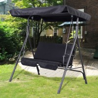 Garden Swing Seat 2 3 Seater Hammock Outdoor Swinging