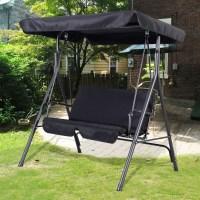 Garden Swing Seat 2 3 Seater Hammock Outdoor Swinging ...