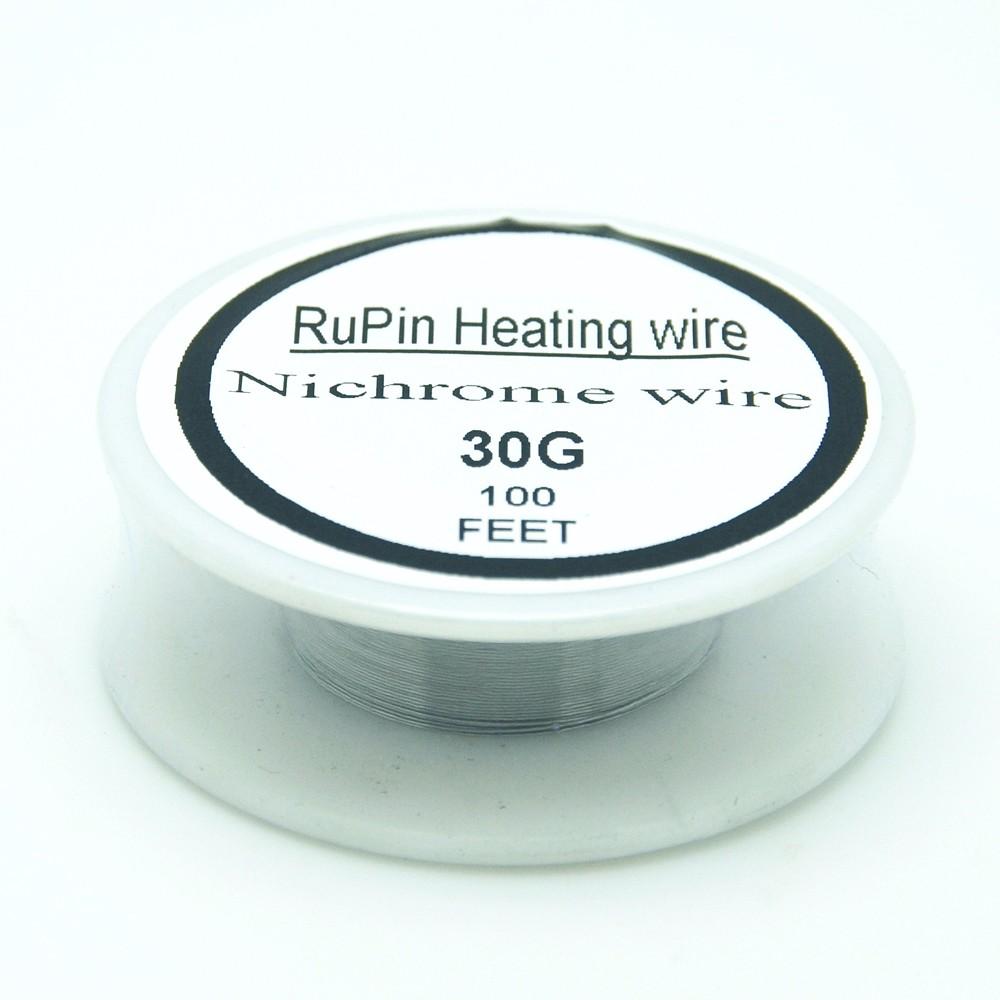 ツ)_/¯RuPin Nichrome wire 30 Gauge 100 FT 0.25mm Resistance Resistor ...