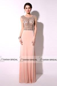 New-Elegant-Long-Chiffon-Blush-Evening-Dresses-2015-Beaded ...