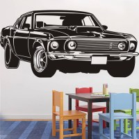 Popular Mustang Wall Decals