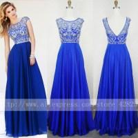 Royal Blue Prom Dress Dillard's_Prom Dresses_dressesss