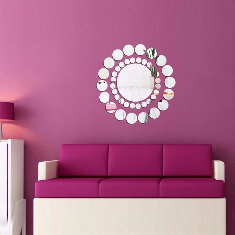 ჱ2017 latest hot art special offer acrylic 3d diy mirror wall ...
