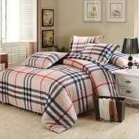 Brand Bedding Sets 4pcs Linens Adult Queen king Size