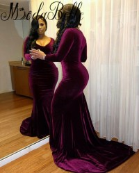 Popular Plus Size Velvet Prom Dresses-Buy Cheap Plus Size ...