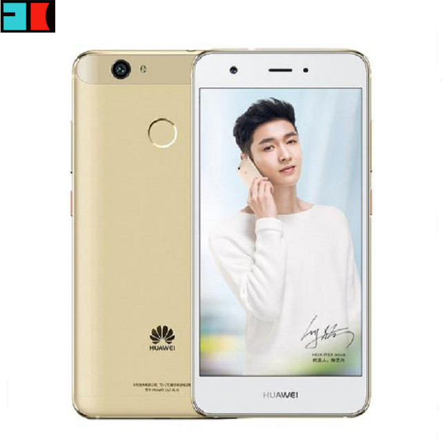 "Original Huawei Nova Cell Phone 4G LTE 3GB/4GB RAM 32GB/64GB ROM MSM8953 Octa Core 5.0"" FHD 1920X1080P Dual SIM Fingerprint"
