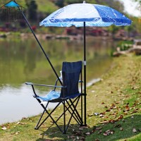 Waning Court umbrella outdoor portable folding chairs ...