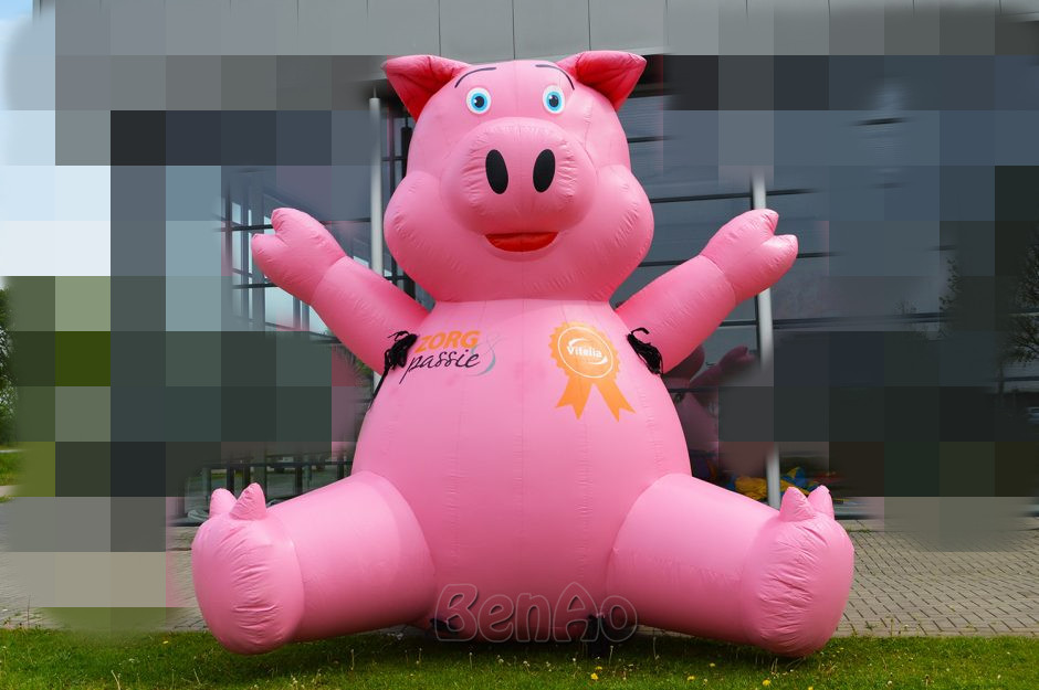 Online Buy Wholesale inflatable advertising pig from China ...