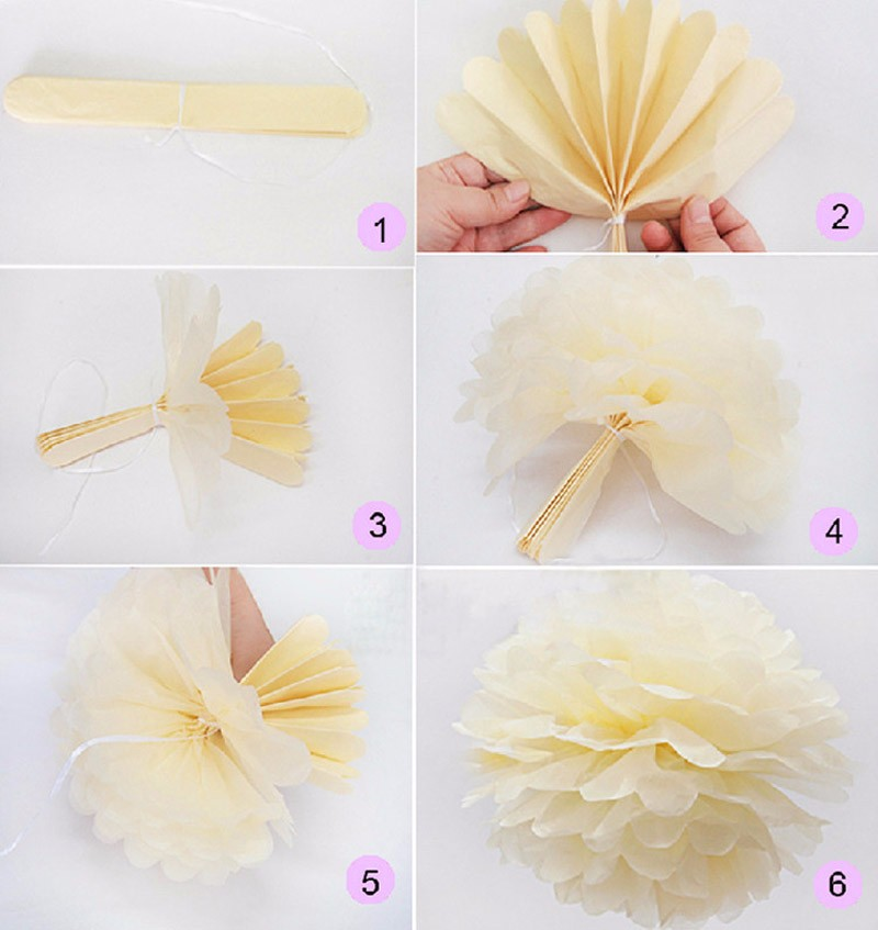 10pcs 6 tissue paper pom poms paper flowers ball wedding home party tissue paper pom poms rustic wedding ball for weddingfestivalparty decoratione tissue paper and crepe paper to create pom poms mightylinksfo