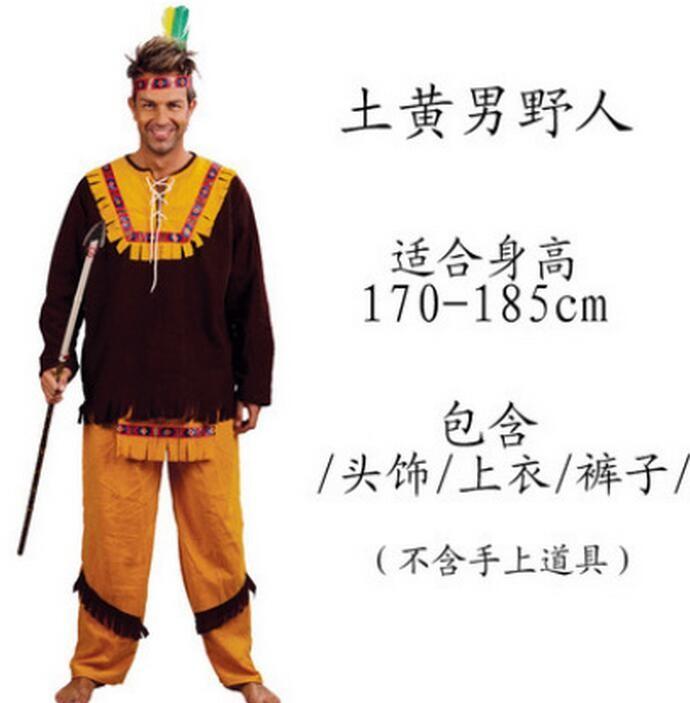 ᗐHalloween carnaval fiesta trajes de cosplay nativo americano indio ...