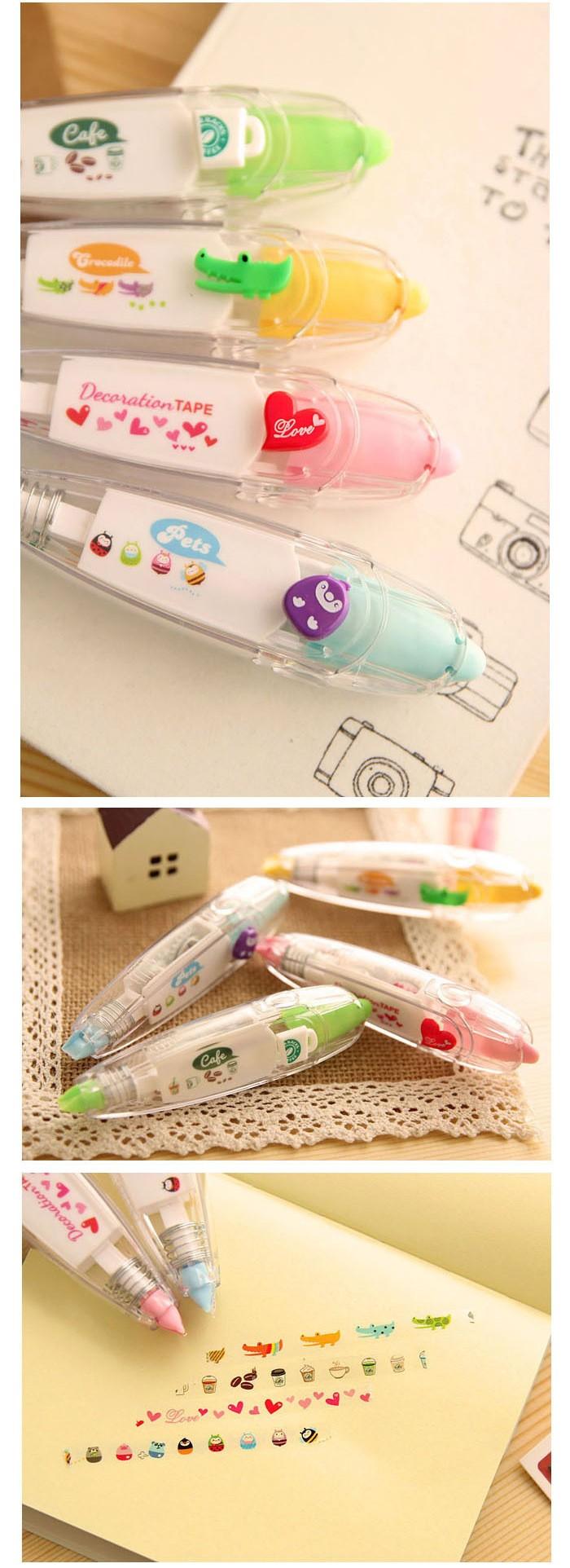 decorative office supplies. Korea Stationery Cute Novelty Correction Tape Decorative Adhesive  Fluid School \u0026 Office Supplies Decorative Office Supplies