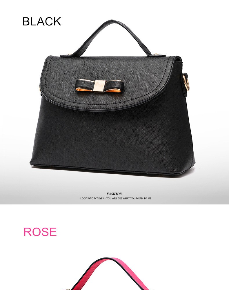 Fashion Bow Design Pu Leather Bags Women Handbag Brand High Free Sg 2in1 Robot Hybrid Armor Hard Soft Case Meizu M3x Color May Be Shown Lighter Or Darker Due To The Different Pc Display And Environment 2 There 1 3 Cm Difference According Manual