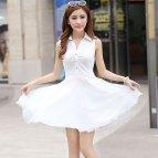Cute White Casual Dress