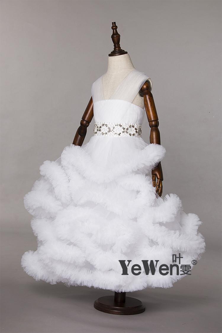 Cloud kleine blume mädchen kleider für hochzeiten baby-parteikittel ...