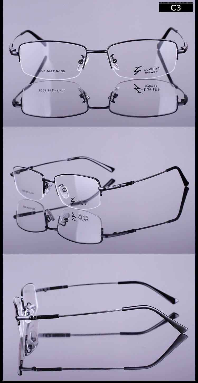 48946b6c1477b Quadro Homens óculos de Computador Vidros do Olho Óptico Óculos Para O Sexo  Masculino Transparente Limpar Lente Armacao de RS288 Crosslink