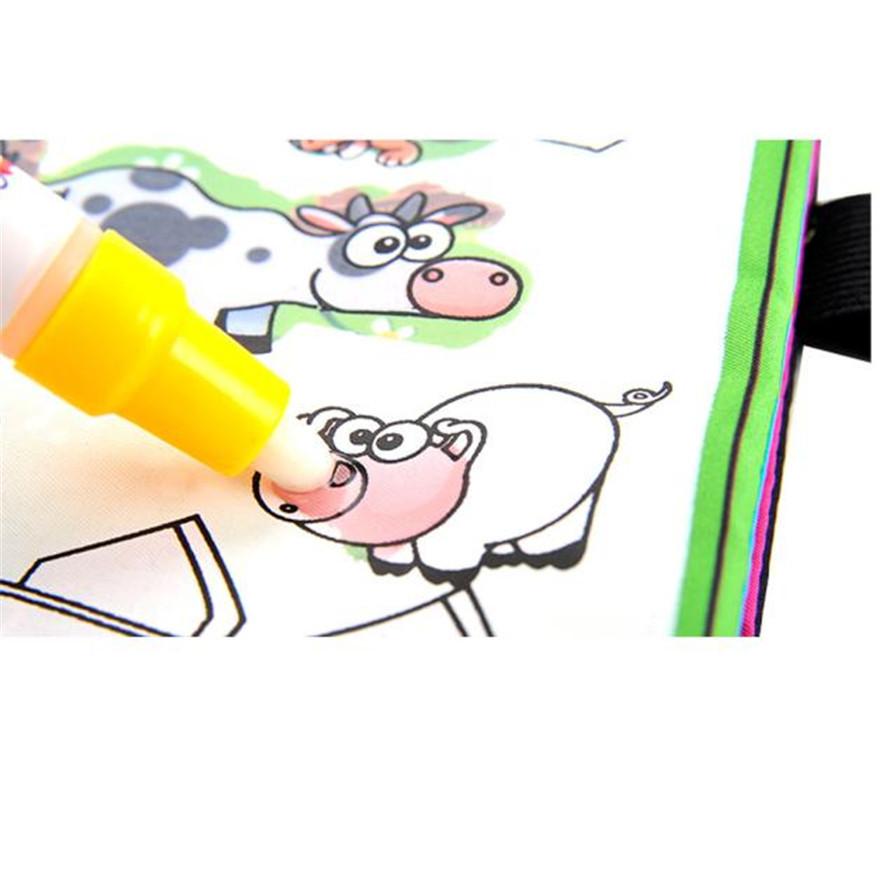 Alta calidad Magic Water dibujo libro para colorear Doodle Magic pen ...