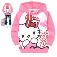 free-shipping-Children-girls-long-sleeved-Hello-Kitty ...