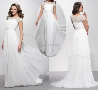Elegant White Dresses With Sleeves