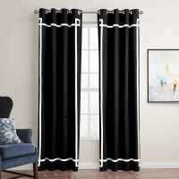 Mordern American Style Black White Gray Shade Cloth ...
