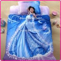 3D-Carton-Princess-Cinderella-Bedding-Set-Cover-Single ...